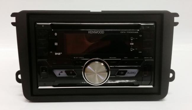VW Touran 2003 2015 Pioneer FH X840DAB 2 DIN DAB+ rad